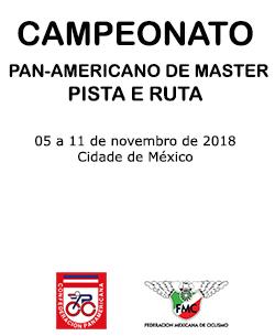 Resultado de imagem para PAN-AMERICANO DE MASTER PISTA E ESTRADA DE CICLISMO 2018 - LOGOS CIDADE DO MÉXICO
